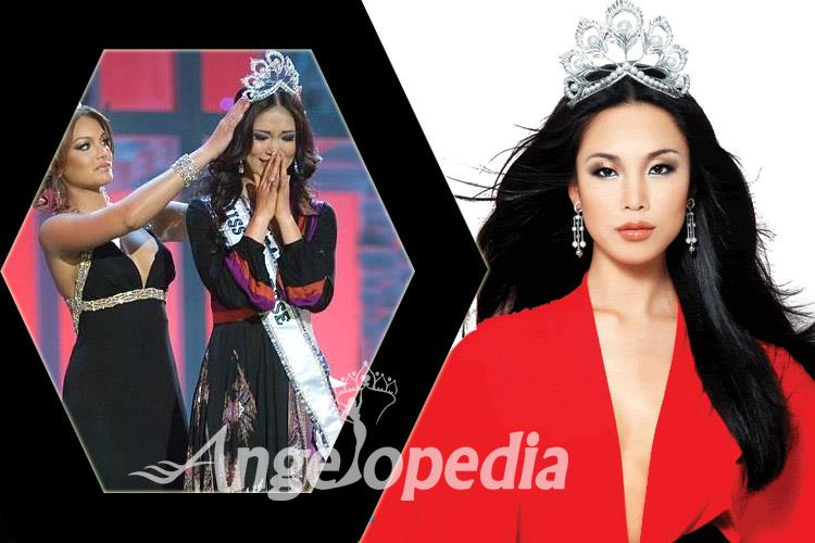 Riyo Mori Miss Universe 2007 from Japan