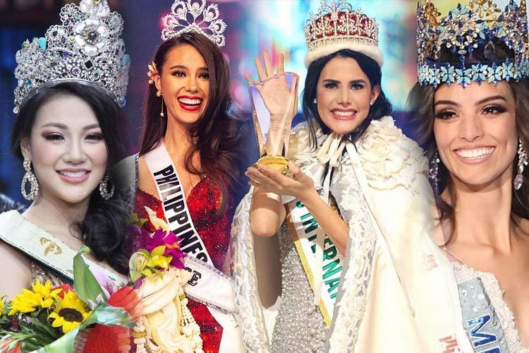 List of all the winners of major international beauty pageants in 2018