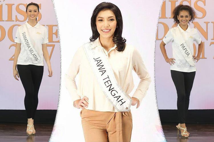 Top 10 Favourites of Miss Indonesia 2017
