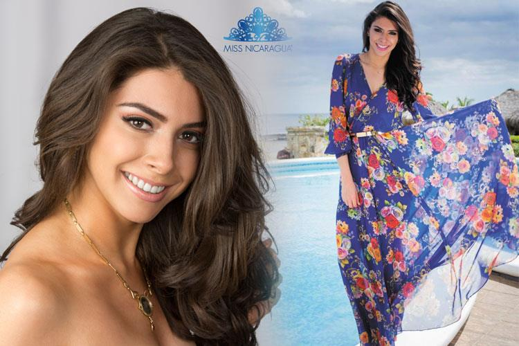 Berenice Quezada Crowned Miss Nicaragua 2017: Berenice Quezada Contestant Miss Nicaragua 2017