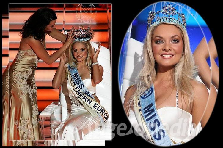 Tatana Kucharova Miss World 2006 from Czech Republic