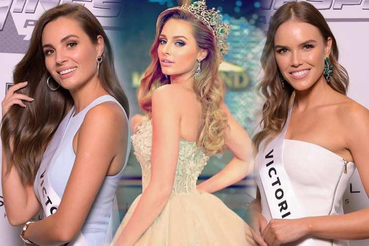 Miss Universe Australia 2019 Top 10 Hot Picks by Angelopedia