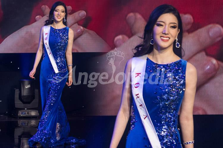 Wang Hyun Miss South Korea 2016 Electric Blue Gown