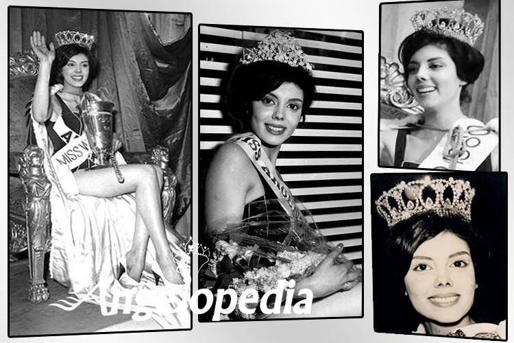 Norma Cappagli Miss World 1960 from Argentina