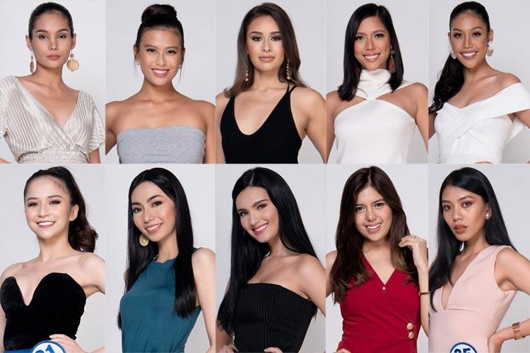 Miss World Philippines 2019 Meet the Contestants