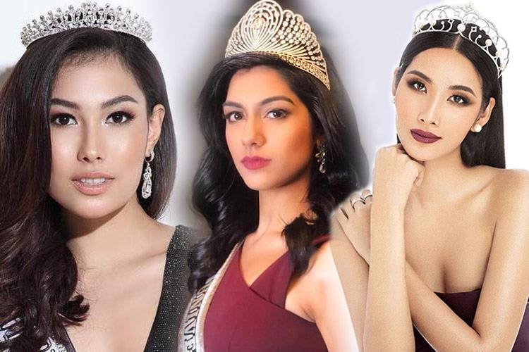 Asian Beauties competing in Miss Universe 2019