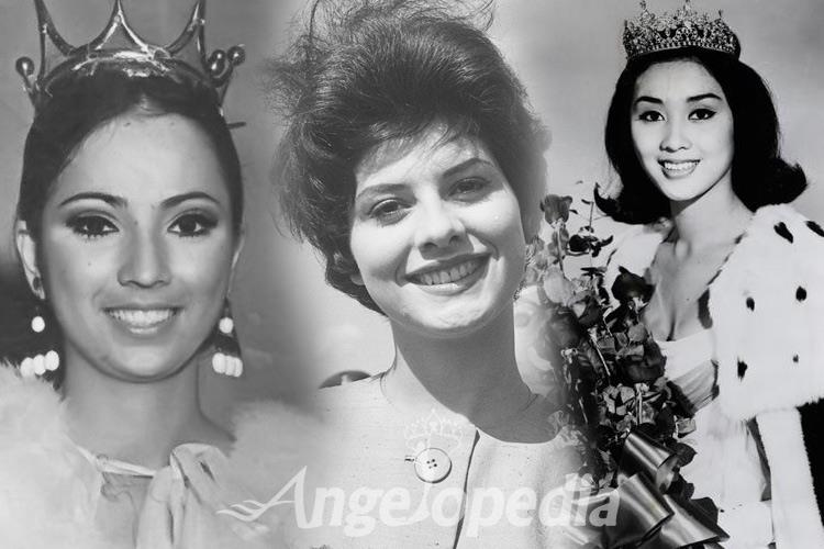 Miss International Titleholders from 1960 to 1970