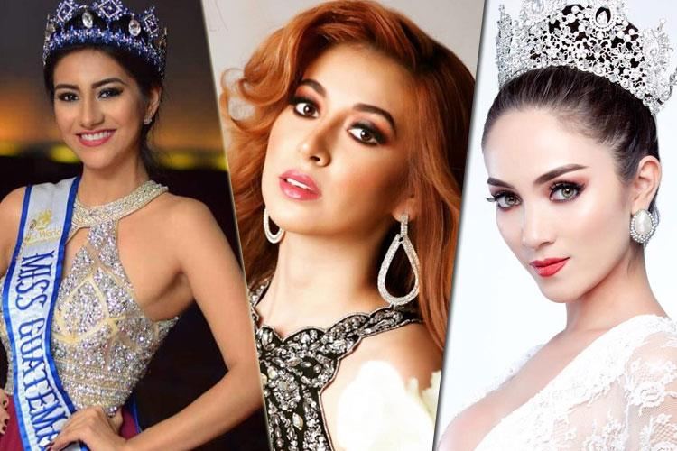 Team Guatemala For International Beauty Pageants 2018