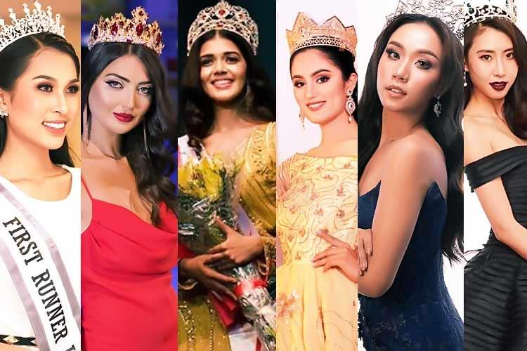 Asia Beauties competing in Miss Earth 2019