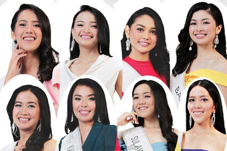 Meet the beauties of Miss Indonesia 2019