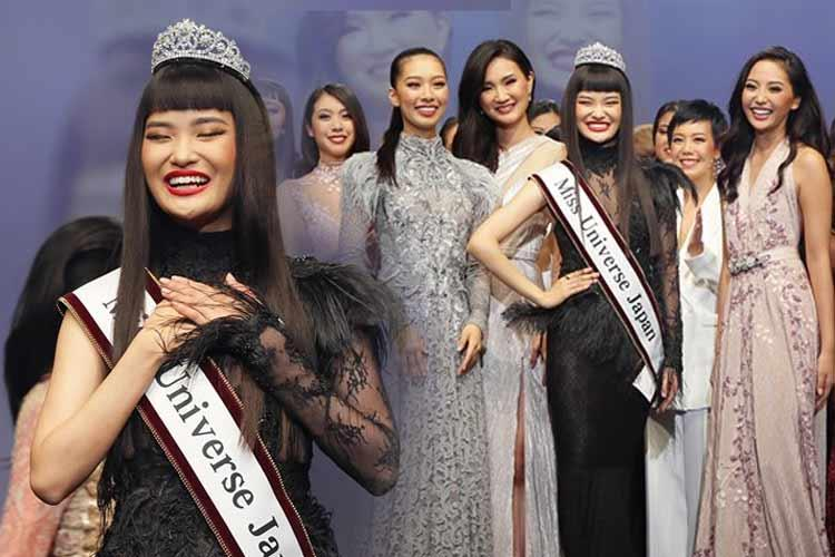 Ako Kamo Miss Universe Japan 2019 for Miss Universe 2019