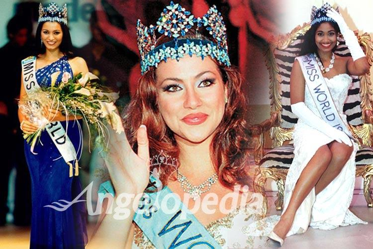 Miss World Titleholders from 1991 to 2000