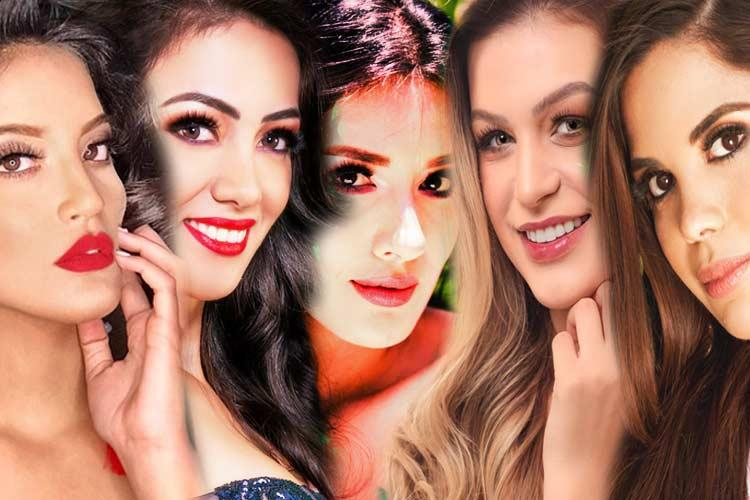 South American beauties competing in Miss Earth 2019