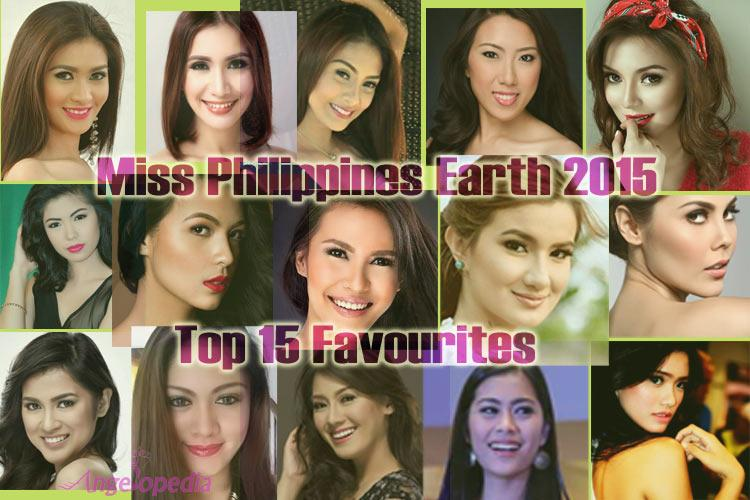 Meet the Top 15 Favourites of Miss Philippines Earth 2015