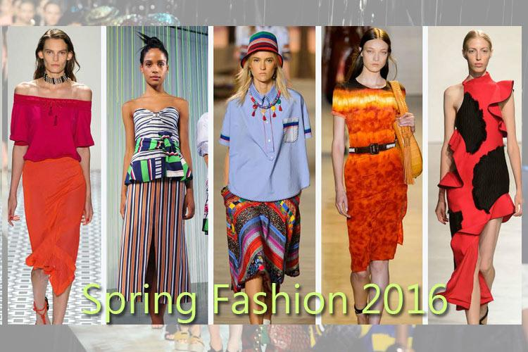 Must have wardrobe for Spring Summer 2016