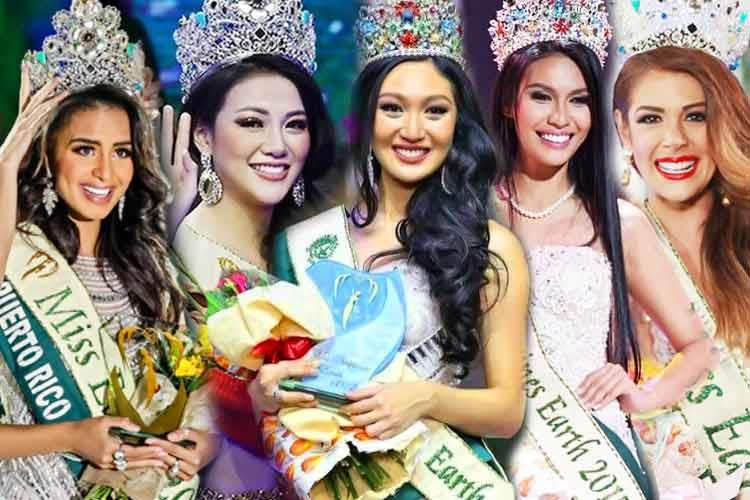 Miss Earth Titleholders from 2011 to 2020
