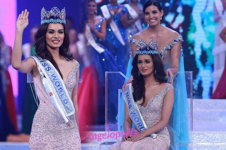 Manushi Chhillar Miss World 2017 from India