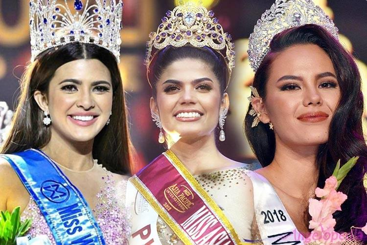 Team Philippines for International Beauty Pageants 2018