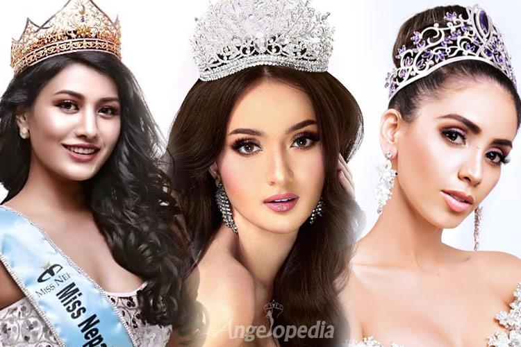 Miss International 2018 Top 20 Favourite Contestants by Angelopedia