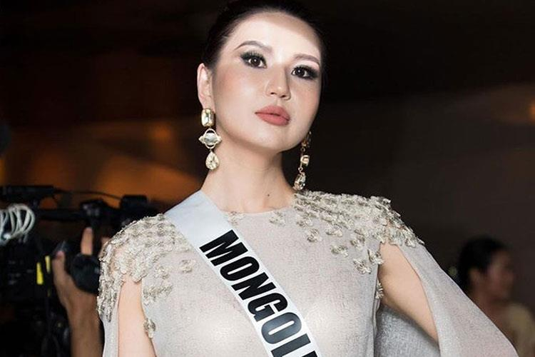 Dolgion Delgerjav Miss Universe Mongolia 2018 for Miss Universe 2018