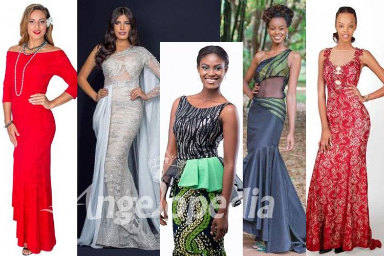 African and Oceanic Continental beauties of Miss World 2016