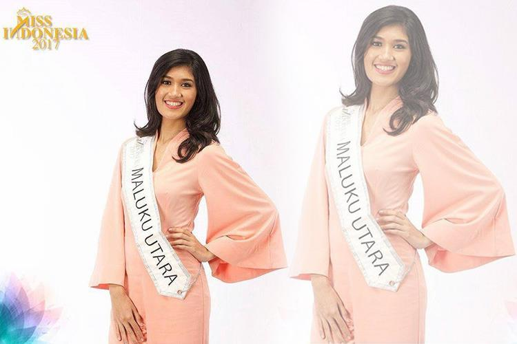 abbygael bianca mckenzie miss maluku utara for indonesia 2017