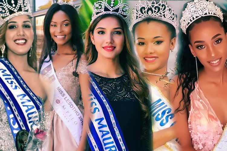 Africa and Oceania Beauties competing in Miss World 2019