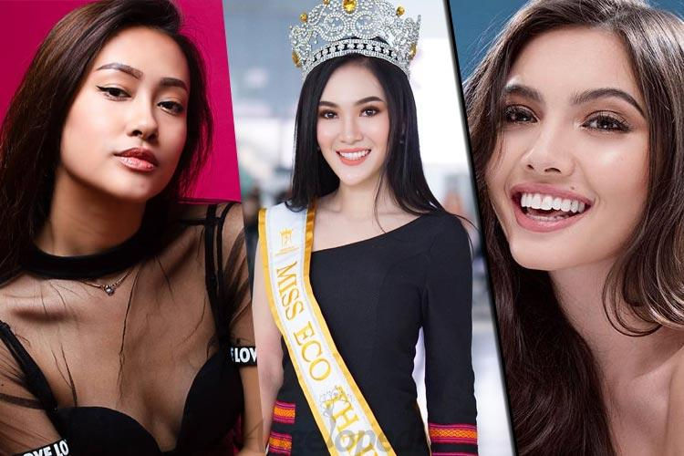 Asian Beauties Competing in Miss Eco International 2019
