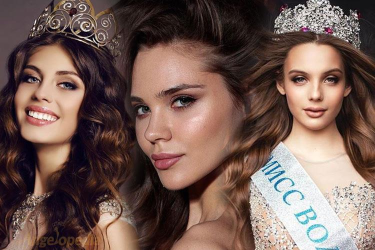 Miss Russia 2019 Top 20 Hot Picks by Angelopedia