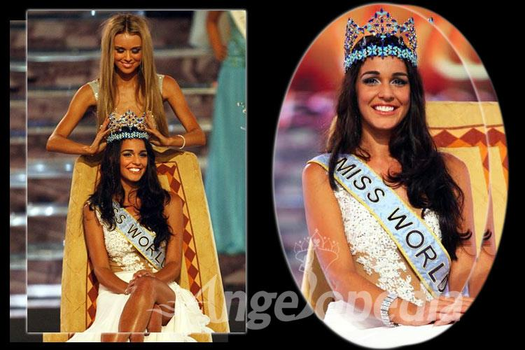 Kaiane Aldorino Miss World 2009 from Gibraltar