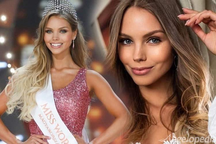 Krisztina Nagypal Miss World Hungary 2019 for Miss world 2019