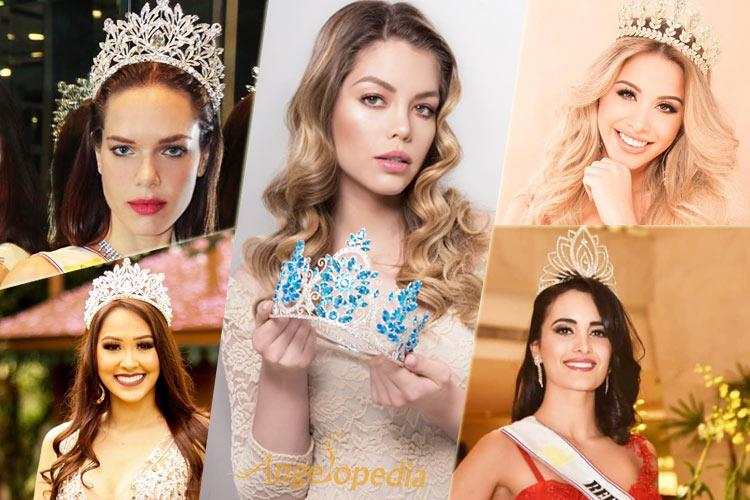 Team Paraguay For International Beauty Pageants 2018
