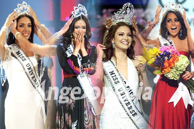 Miss Universe titleholders from 2001 to 2010