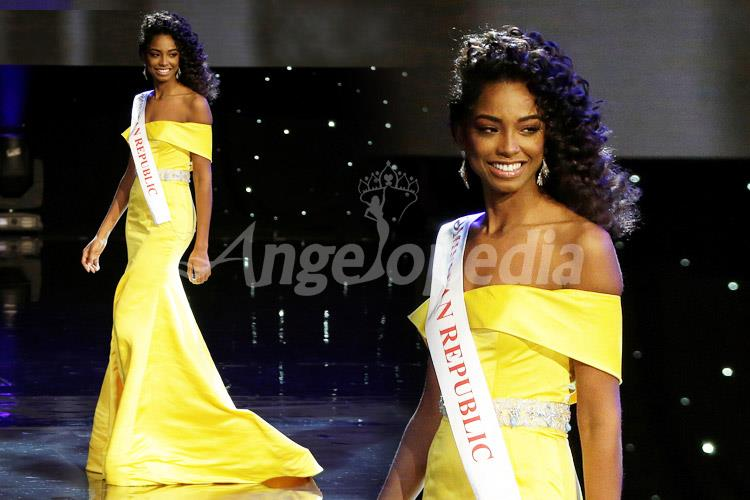 Yaritza Reyes Miss Dominican Republic 2016 Yellow Gown