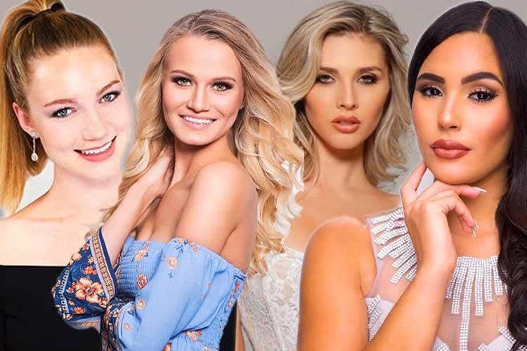 Beauties competing in Miss Grand USA 2020