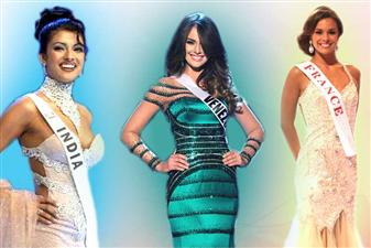 We here bring you different ranges of hairdos donned by dazzling beauty queens at different events for the pageants, which not just made them regal and royal, but also simply non ignorable. Have a look!