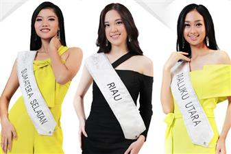 Miss Indonesia 2019 Meet the Finalists