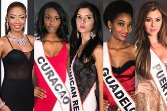 The Caribbean Beauties of Miss Intercontinental 2015 are - Trinidad and Tobago, Curacao, Dominican Republic, Guadeloupe and Puerto Rico.