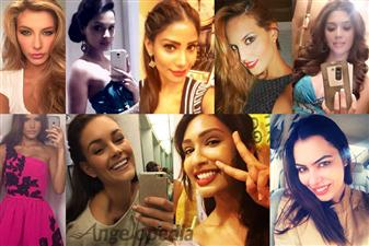 Clicking a lot of selfies seems to be enjoyed by these beauty queens. Moreover, pleasing the camera is the favourite pass time for them. Today, we at Angelopedia bring you a series of Selfies in which these picture-perfect divas show off their oh-so-hot side.
