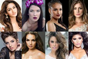 The top 25 favourites of Miss World 2015 - India, Phillipines, Austria, Brazil, Colombia, Indonesia, Mongolia, Nambia, Netherlands, Newzealand, Russia, Samao, South Africa, Thailand, Venezuela, USA, Uruguay, Norway, France, Costa Rico, Germany, Jamaica, Macedonia, Spain and Guam.