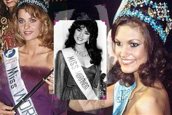 Miss World winners from 1981 to 1990 are - Pilin Leon from Venezuela, Mariasela Alvarez Lebron from Dominican Republic, Sarah Jane Hutt from UK, Astrid Carolina Herrera from Venezuela, Holmfridur Karlsdottir from Iceland, Giselle Laronde from T&T, Ulla Weigerstorfer from Austria, Linda Pétursdóttir from Iceland, Aneta Kręglicka from Poland, and Gina Tolleson from USA.