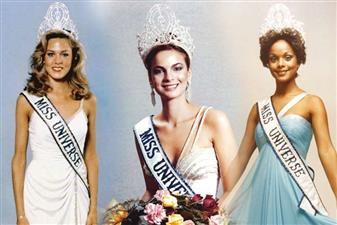 Miss Universe winners from 1971 to 1980