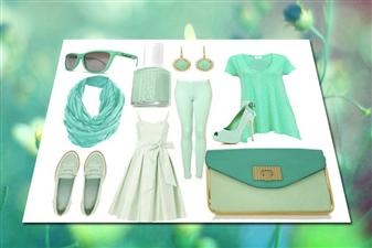 Mint green is a hot colour for this spring and summer fashion season.  It can be a pretty colour if worn right and a disaster if worn wrong.  If you're someone who has seen this colour around, then before you run out and buy it for yourself, take advice on how to wear it.