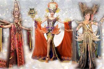 We here bring you the impressive national costumes of Indonesia at different pageants over the recent years. Have a look!