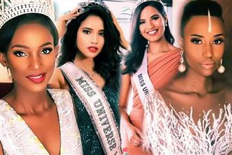 Miss Universe 2019 Delegates from Africa and Oceania