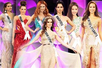 Head turners at Miss Universe 2019