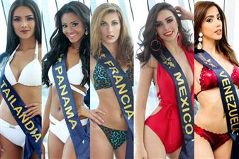 Angelopedia's Top 12 favourites for the title of Miss United Continents 2017 are Cecilia Oriolani from Argentina, Yenniffer Hernández Jaimes from Colombia, Mathilde Adloff from France. Divya Yabindranauth from Guyana, Mulledina Muldy Clerger from Haiti, Sana Dua from India, Roxana Reyes Herrera from Mexico, Jeisy Lucía Rodríguez Estévez from Dominican Republic, Aoom Thaweepon Phingchamrat from Thailand, Alina Pigun from Ukraine, María Daniela Velasco Rodríguez from Venezuela and Paulette Sánchez from Panama.
