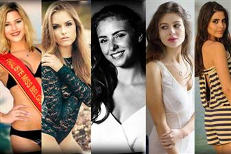 The Top 5 favourites of Miss Belgium 2016 are - Amy Courtens, Laura Dupont Ciccarella, Leila Noumair, Stephanie Nouws and Valeryia Kazheunikava.