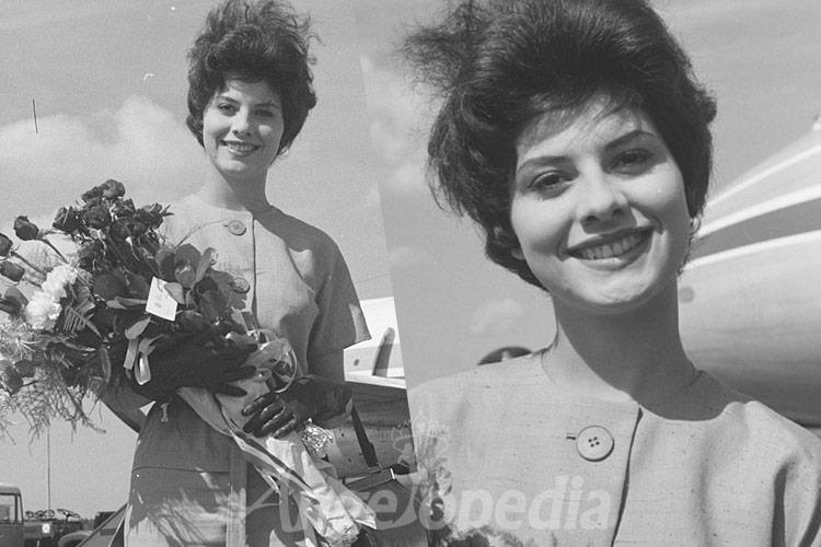 Stanny van Baer Miss International 1961 from Holland