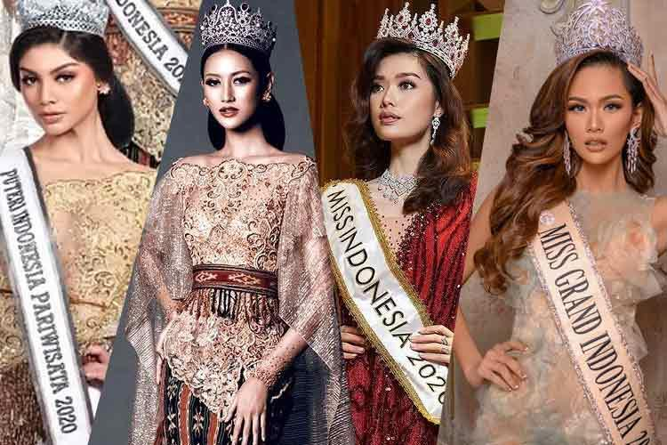 Team Indonesia For International Beauty Pageants in 2021